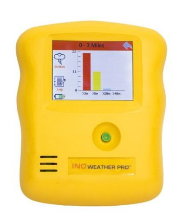 INO Weather Pro weather station lightning detection