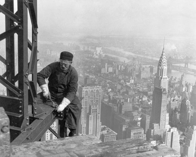 skyscraper worker